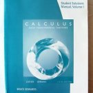 STUDENT Solutions Manual CALCULUS Early Transcendental Functions Vol 1 LARSON