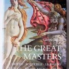 THE GREAT MASTERS by Giorgio Vasari c. 1986 Leonardo Michelangelo Raphael etc..