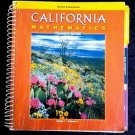 Scott Foresman CALIFORNIA MATHEMATICS Spiral-bound TEACHER EDITION Gr. 1 Vol. 1