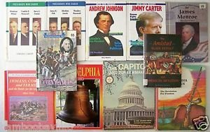 US HISTORY & BIOGRAPHY Books CHILDREN'S 11 BOOK LOT U.S. Historical Grade 4 5 6
