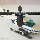 LEGO 7741 CITY - Police Helicopter with MINIFIGURE HANDCUFFS BINOCULARS Modded
