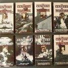 Lot of 8 VHS WARFARE HISTORY series GULF WAR SEA NAVAL JUNGLE VIETNAM WAR VryGD+