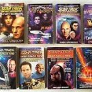 STAR TREK SERIES 11 Book Lot ORIGINAL NEXT GENERATION VOYAGER DEEP SPACE NINE