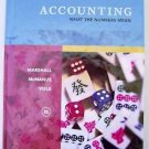 ACCOUNTING : What the Numbers Mean 8th Edition by MARSHALL McMANUS VIELE VryGOOD