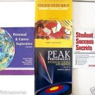 LOT 4 Books STUDENT SUCCESS SECRETS Peak Performance in College STUDY SKILLS etc