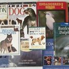 CHILDREN'S ANIMAL BOOKS Gr. 3 & 4 ANIMALS 11 Book Lot DOGS BIRDS BATS WHALES etc