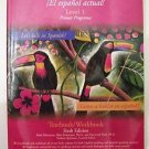 Barrons SPANISH NOW ! El espanol actual Levl 1 Primer Programa TEXTBOOK WORKBOOK
