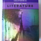McDougal Littell LITERATURE British Literature Student Edition Hardcovr GRADE 12