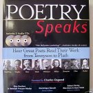 POETRY SPEAKS Book with dj + 3 Audio CD Series ~ by PASCHEN & MOSBY
