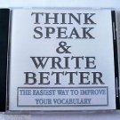WordSmart version 4 Volume C - THINK SPEAK & WRITE BETTER  Mac & Windows CD NEW