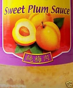 SWEET PLUM SAUCE 6x26 oz. bottles NO Artificial Colors or Preservatives / NO MSG