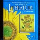 Glencoe LITERATURE The Reader's Choice COURSE 1 Teacher Wraparound Edition Gr 6
