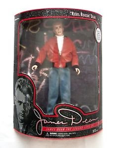 "12"" JAMES DEAN DOLL Figure REBEL ROUSER DEAN 1994 Limited Ed. DSI Orig. Box NRFB"