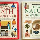 HOW NATURE WORKS + HOW MATH WORKS by Reader's Digest FOR PARENTS & KIDS TO SHARE