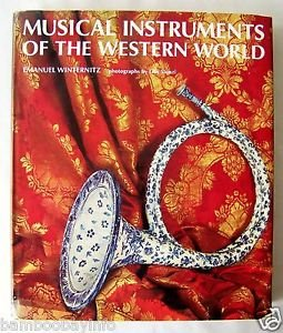 MUSICAL INSTRUMENTS OF THE WESTERN WORLD by EMANUEL WINTERNITZ Oversize HC Music