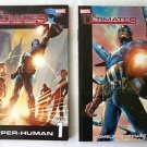 THE ULTIMATES VOL 1 & 2 ~ Comic Books SUPER-HUMAN & HOMELAND SECURITY by Marvel