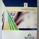 2012 Becker CPA EXAM REVIEW 2012 Ed AUDITING Textbook Business DEVRY Softcvr NEW