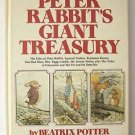 Giant Treasury of Peter Rabbit by Beatrix Potter (1980, Hardcover) Vintage - VG+