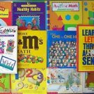 LOT 12 BOOKS : Student Workbooks & Teacher / Parent Resources Pre-K to Grade 3
