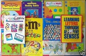 LOT 12 BOOKS : Student Workbooks & Teacher / Parent Resources Pre-K to Grade 3