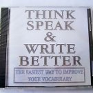 WordSmart version 4 Volume B - THINK SPEAK & WRITE BETTER  Mac & Windows CD NEW