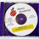 SPELLING MENTOR CD ROM Windows PC Mac learn Software Grade 2 3 4 HEXCO ACADEMIC