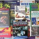 LOT of 16 SCIENCE & TECHNOLOGY BOOKS 9 HC + 7 SC Grade 4 5 6 7 8 + FREE BONUS !!