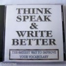 WordSmart version 4 Volume G - THINK SPEAK & WRITE BETTER  Mac & Windows CD NEW