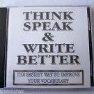 WordSmart version 4 Volume G - THINK SPEAK & WRITE BETTER  Mac & Windows CD NEW