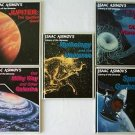 Lot 5 ISAAC ASIMOV Library of the Universe ASTRONOMY Children HC BOOKS Gr 2 to 4