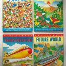 FACT FINDER Series 4 BOOK SET Transportation PEOPLE Future World NATURAL WORLD