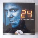 24 DVD BOARD GAME Teens Adults 2+ Plyrs FOX HIT ACTION SHOW Agent Jack Bauer NEW