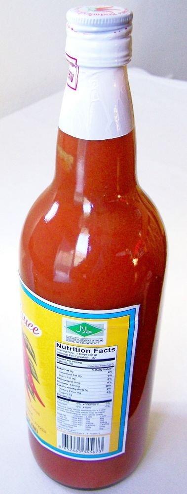 HOT Chili SRIRACHA SAUCE 6 x 25 oz. ~ NO Artificial Colors, Preservatives or MSG