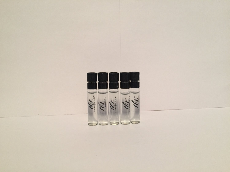 Mr Burberry men cologne travel size (5) sample