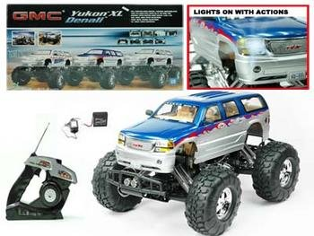 RC 1:10 GMC Yukon Denali Monster Truck
