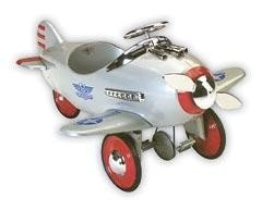 Silver Pursuit Pedal Plane