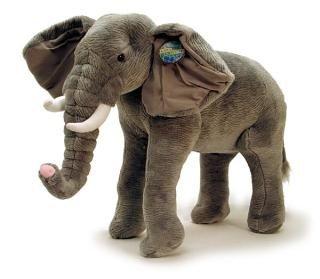 """Standing Elephant w/ sound (26"""")"""