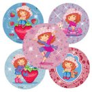 Smilemakers.com Stickers Strawberry Shortcake Glitter