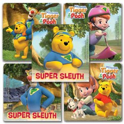 Smilemakers.com Stickers Pooh Bear Modern
