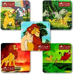"""Smilemakers.com Stickers """"Lion King"""""""
