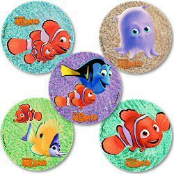 """Smilemakers.com Stickers """"Finding Nemo"""""""
