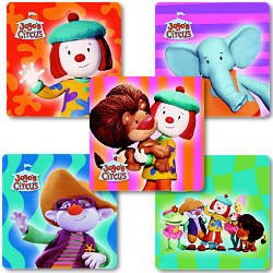 Smilemakers.com Stickers Jo Jo's Circus