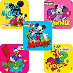 Smilemakers.com Stickers Mickey Mouse Clubhouse