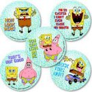 Smilemakers.com Stickers Sponge Bob Square Pants Glitter