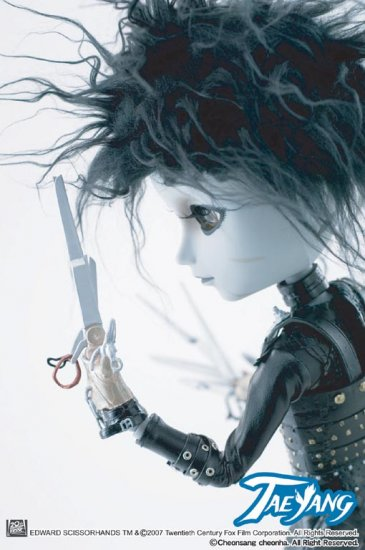 "pullip ""Edward Scissor Hands""  Visit doll-collectible.com"