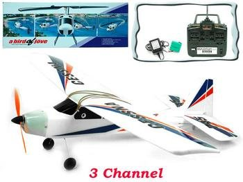 3 Channel R/C Airplane