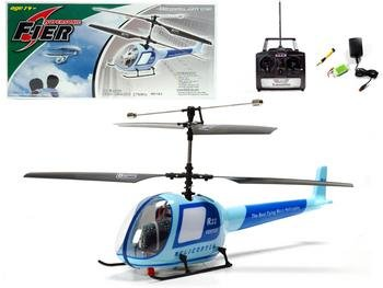 R/C Helicopter Light Blue