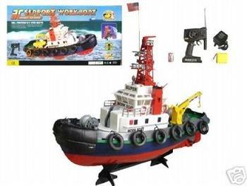 R/C Sea Port Tug Boat RC RTT