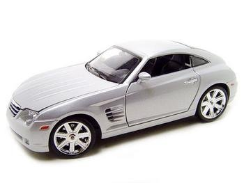 Chrysler Crossfire Silver 1:18 diecast