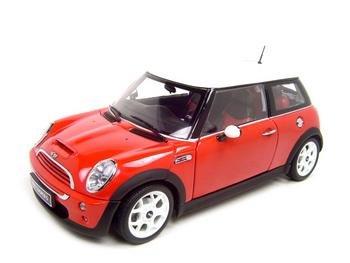 Mini Cooper Red 1:18 diecast